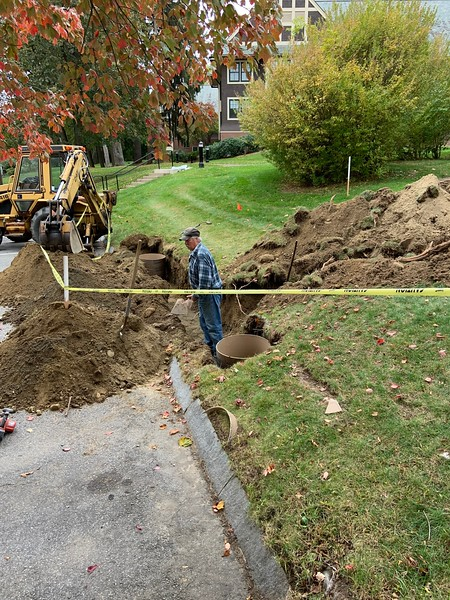 Electric Car Charging Station Construction 10.22.19