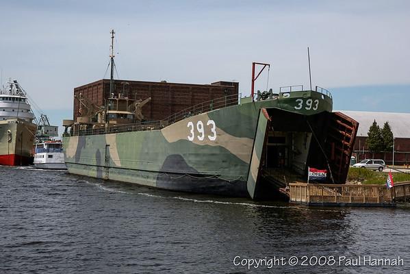 LST-393 – Muskegon, MI