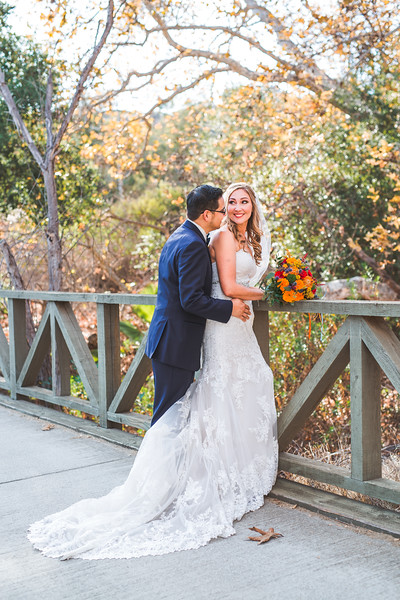 Bride and Groom Photos at Wedgewood in Fallbrook