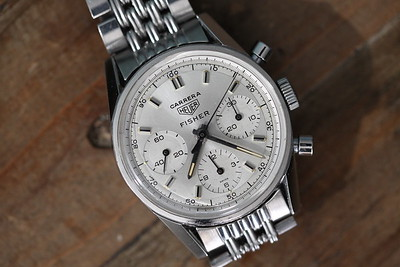 Heuer Carrera 2447 SD Fisher