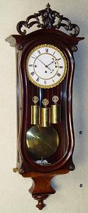 VR-343 - Early Dwarf Serpentine Granne-Sonnerie Vienna Regulator with Pie-Crust Bezel
