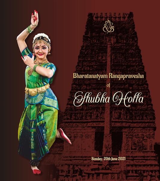 Shubha Holla's Bharatanatyam Rangapravesha 2021