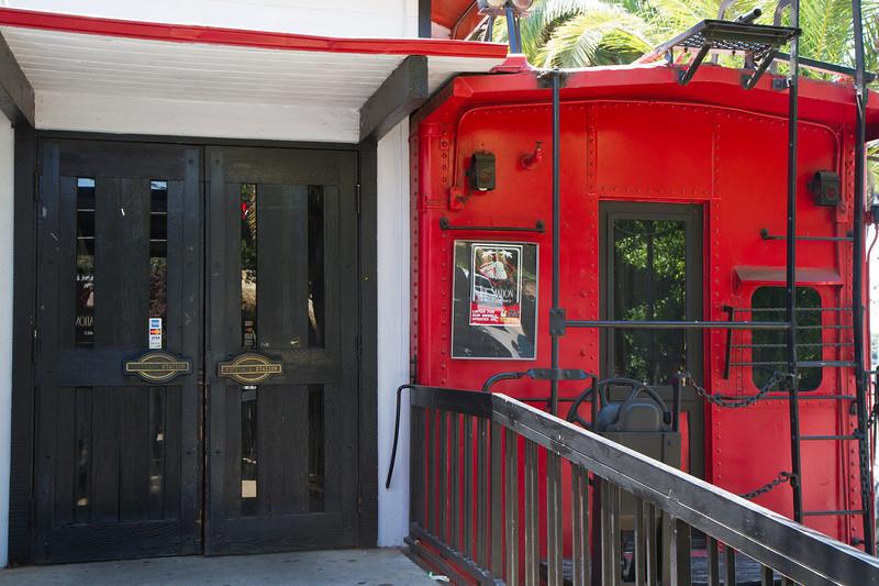 Entrance Caboose