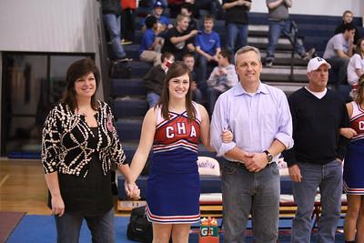 CHA Senior Recognition - February 15, 2011