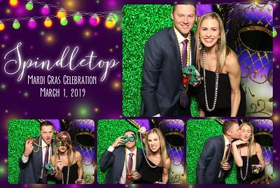 Spindletop Mardi Gras - The Crystal Ballroom - 3.01.2019
