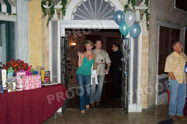 Cindy Ryans surprise 40th