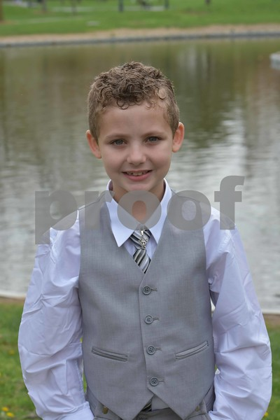 Evan S's Communion Pics.