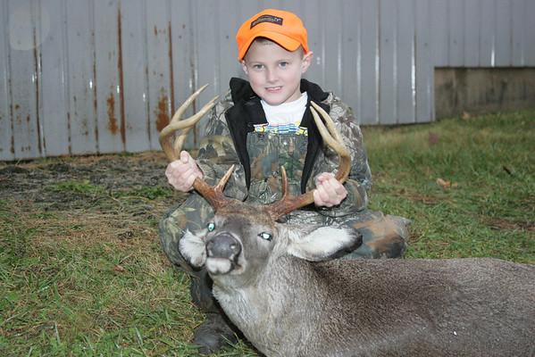 Wade's first deer