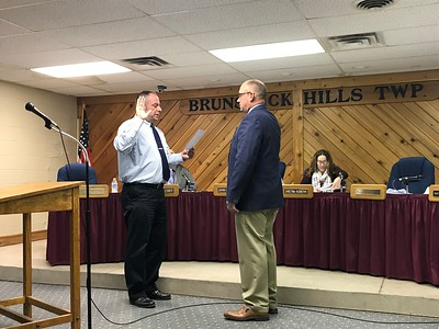 Brunswick Hills swears in reserve police officer