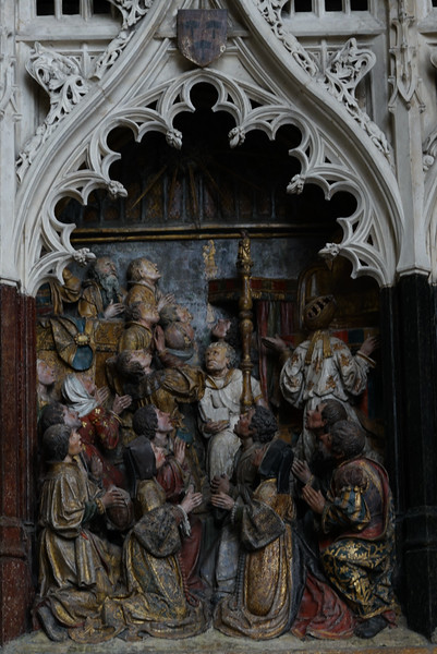 Amiens Cathedral Saint-Fermin Worshippers