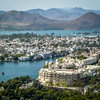 View Over Lakes and Palaces of Udaipur, India