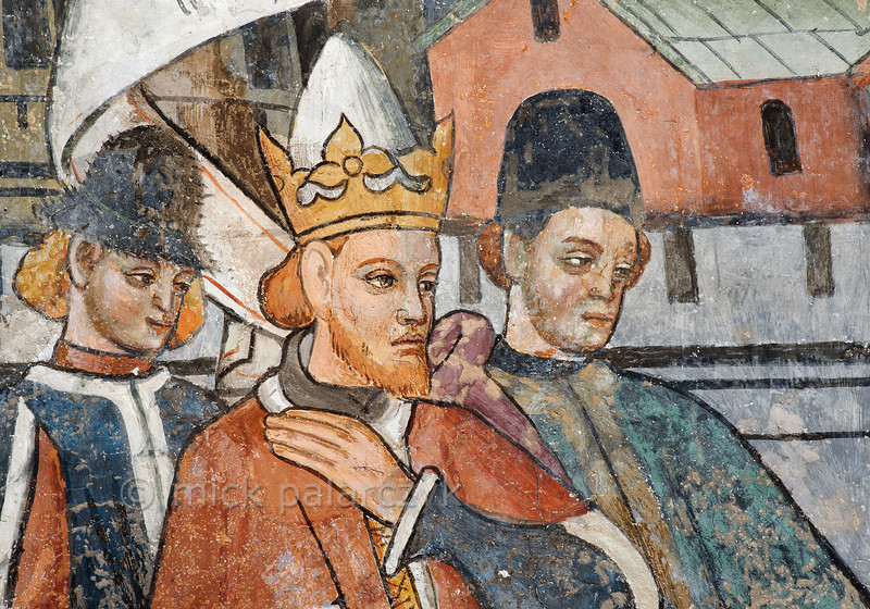 Fresco of Emperor Diocletian, Venanson.