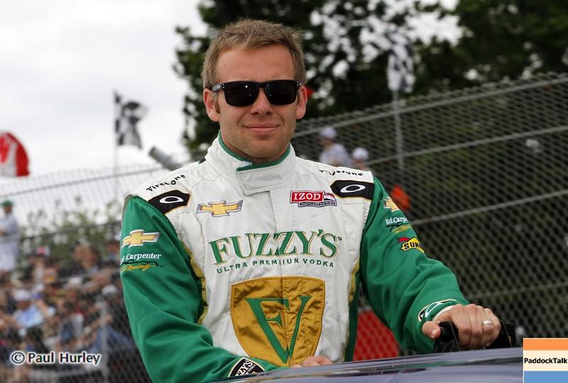 June 2: Ed Carpenter during the Chevrolet Detroit Belle Isle Grand Prix.