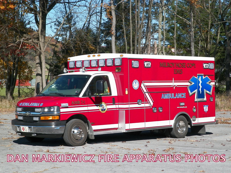 MILROY HOSE CO. EMS