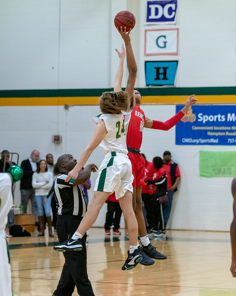 2019-02-07 Kempsville v Great Bridge Boys Varsity Basketball