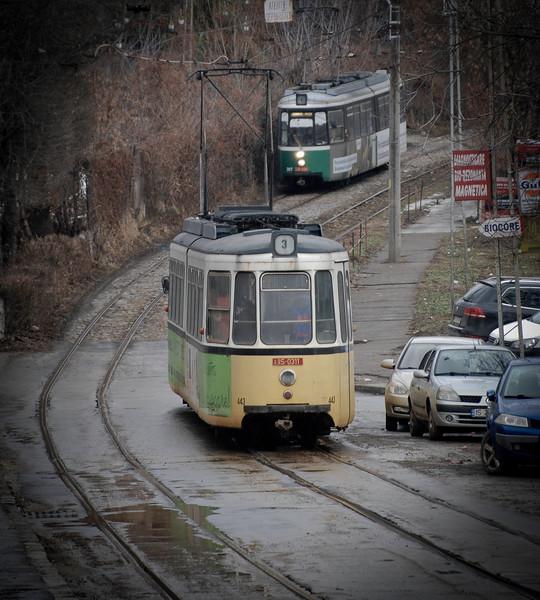 Extreme tram journeys in Iasi