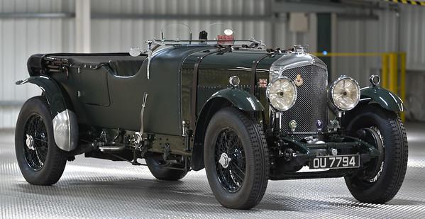 1931 Bentley 8 Litre Open Tourer OU 7794