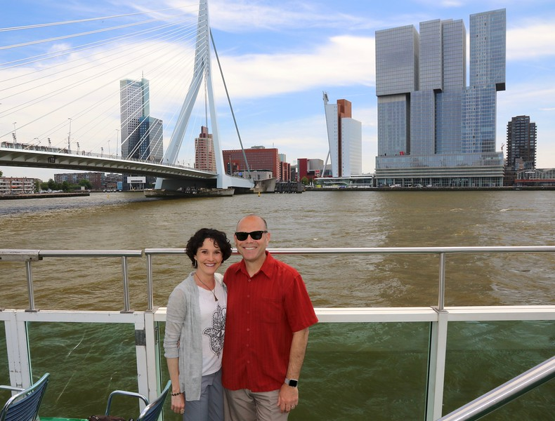 Boat tour along the Maas River - Rotterdam