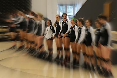 BL Varsity Volleyball vs Nolan @ BL (10/16/2014)