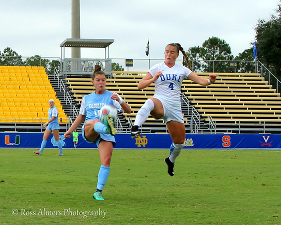 UNC vs Duke 2017 ACC Women's Soccer Championship Final
