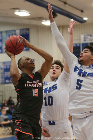 Boys Varsity Basketball vs Fairfax 1/31/17