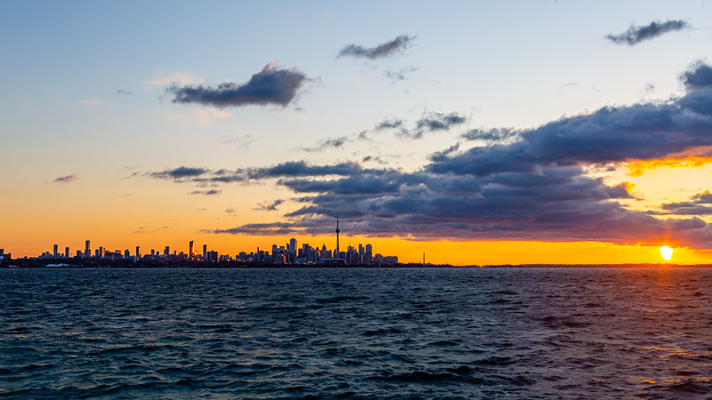 Sunrise from Humber Bay Park