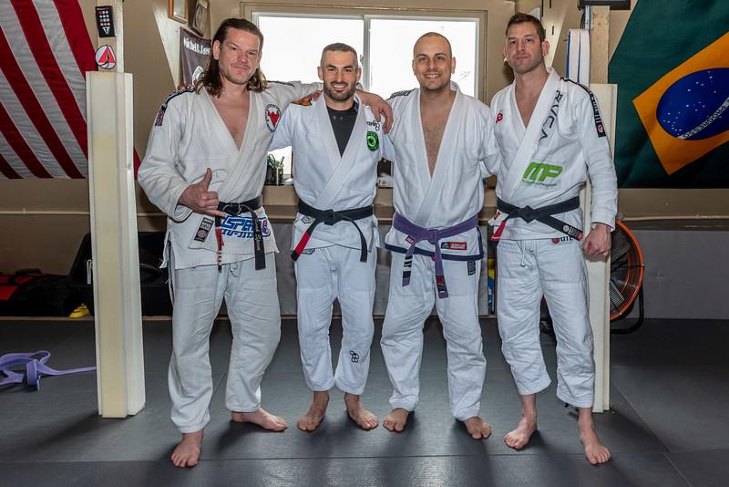 Noah Spear, Zach Green, David Colon, Dave Sulkin