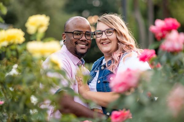 Kelsie + Damond Engagement Photos