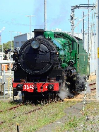 3642 Locomotive - Wollongong to Sydney Sail / Rail