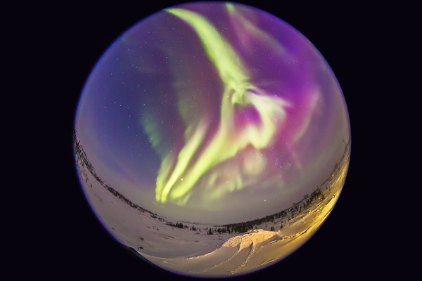 Nightscapes - Panoramas - 360° Fish-Eye
