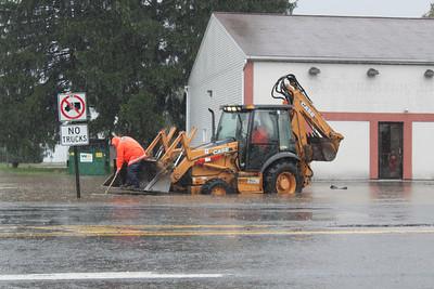 Heavy Rain, Flooding, Rush Township (9-23-2011)