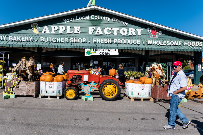 At The Apple Factory
