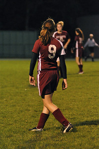 NBHS Lady Lions Soccer vs. Blackhawk - 10.8.09