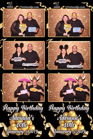 Adriana's 40th Bash