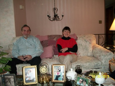 PAul Genest , Lorraine Grady Christedes @ Lorraine's home