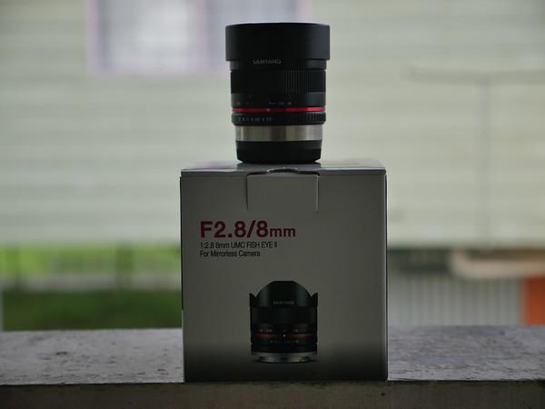 Samyang 8mm F2.8 Fisheye Lens