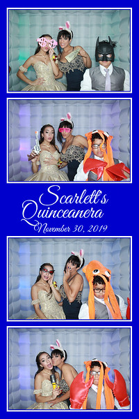 2019.11.30 - Scarlett's Quinceanera, Sarasota, FL