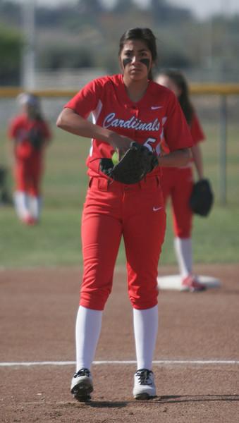 Woodlake @ Lindsay Softball 3-21-14