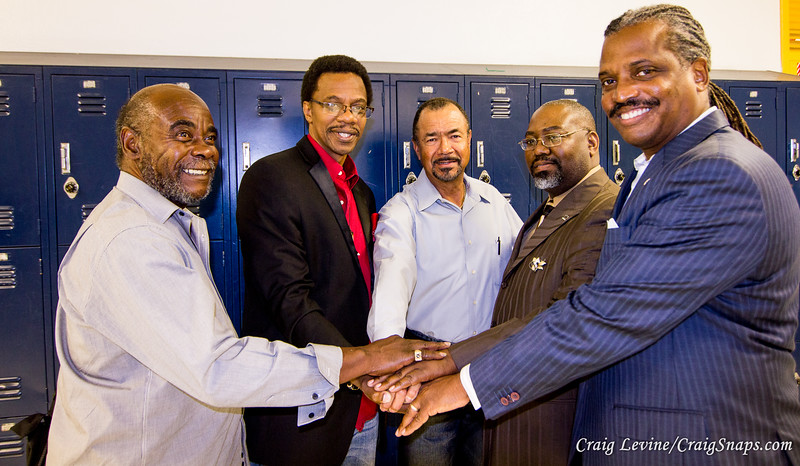 2015:  See A Man,  Be A Man - Mentors Making a Difference  at Locke High School