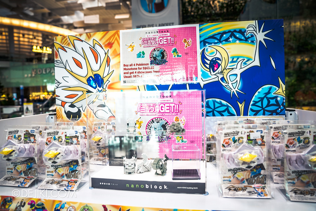 Pokémon at Changi Airport - Nanoblocks for sale