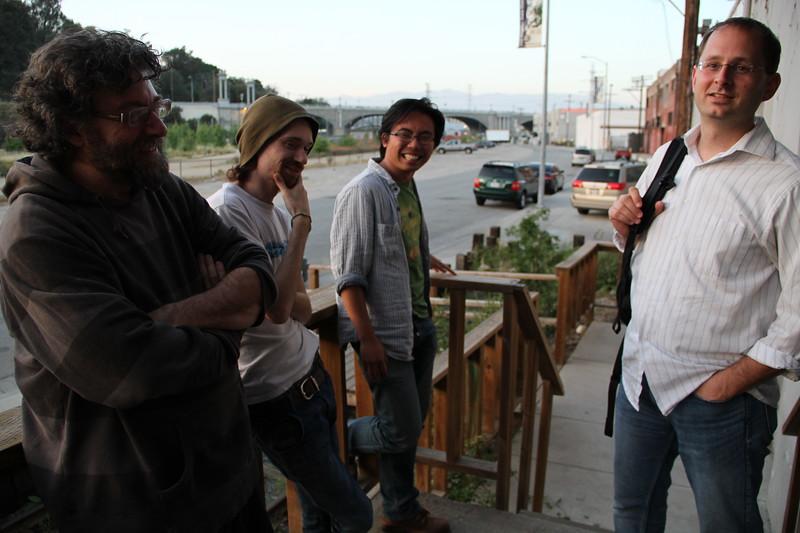Fabian, James, Dominic, Jeff