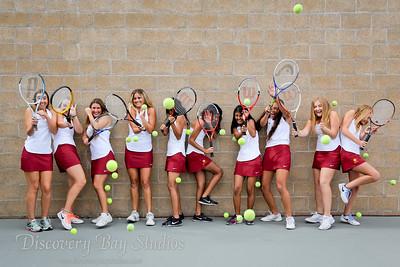 Liberty Girls Tennis 2017 (by: Hannah Broocker)