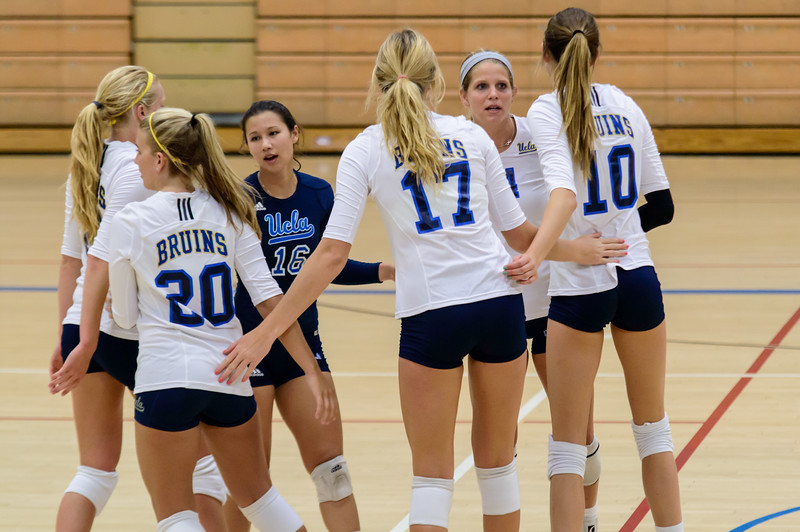 UCLA Women's Volleyball Alumnae Game @ Collins Court, Wooden Center