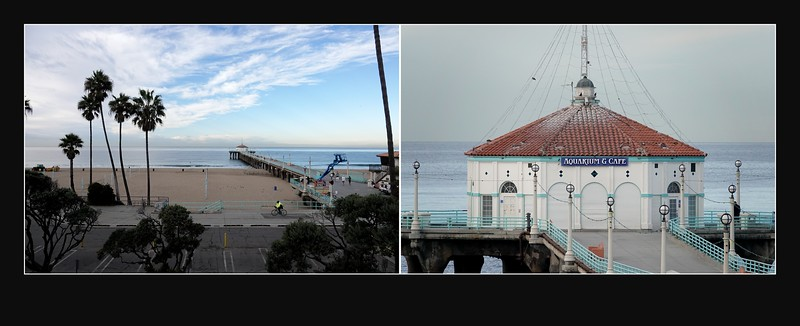 Wide and Tight shots of the Manhattan Beach Pier