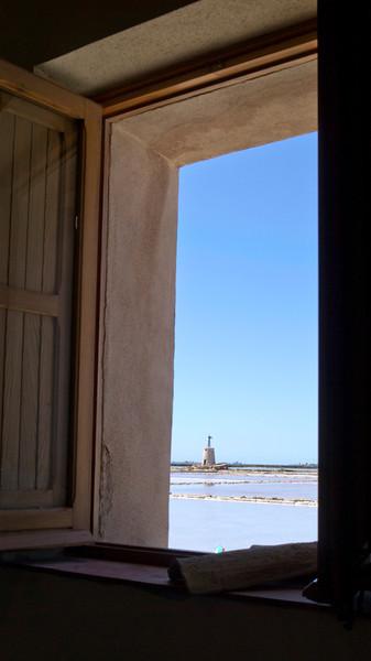 Marsala Salt Pond Sicily