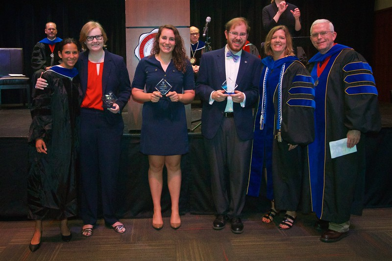 THE PSYCHOLOGY AWARD -The Psychology award is given to students who have demonstrated academic excellence, scholarship, research and/or service. The winners of this award are Jeremiah Jordan Hamby, Taylor Schwartz, and Juliette Lawson Ratchford.