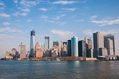 New York City Harbour Views
