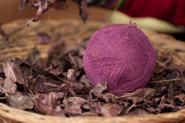 Chinchero Wool Demonstration
