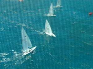 Laser Boat Handling DVD, overhead view