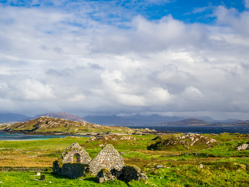 St Colman's Abbey, Inishbofin